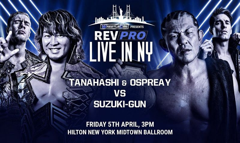 A proving ground for Will Ospreay