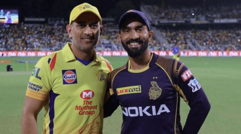 The Kolkata Knight Riders take on the Chennai Super Kings in Match 21 of IPL 2020