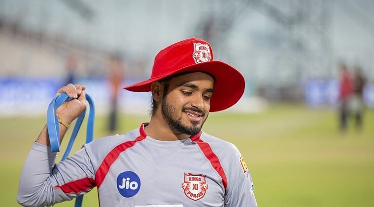 Prabh Simran Singh earned a spot in KXIP