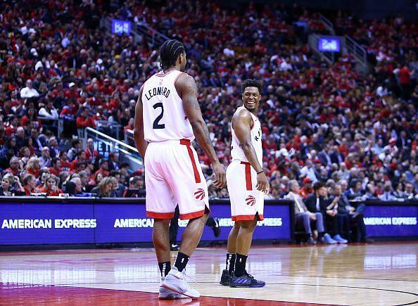 Kawhi Leonard and Kyle Lowry dominated for the Raptors