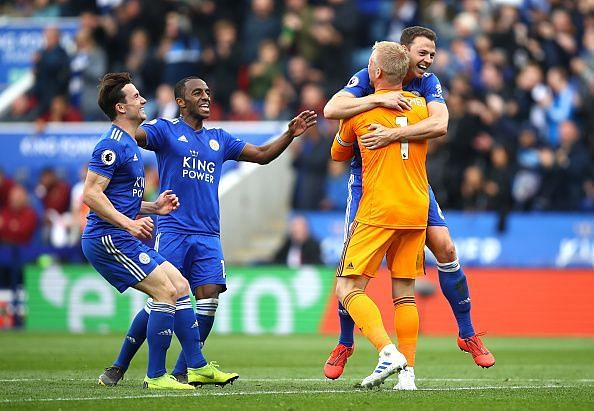 Leicester City thrashed Arsenal 3-0