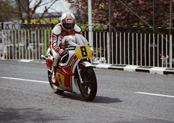 Mike Hailwood at the Isle of Man TT