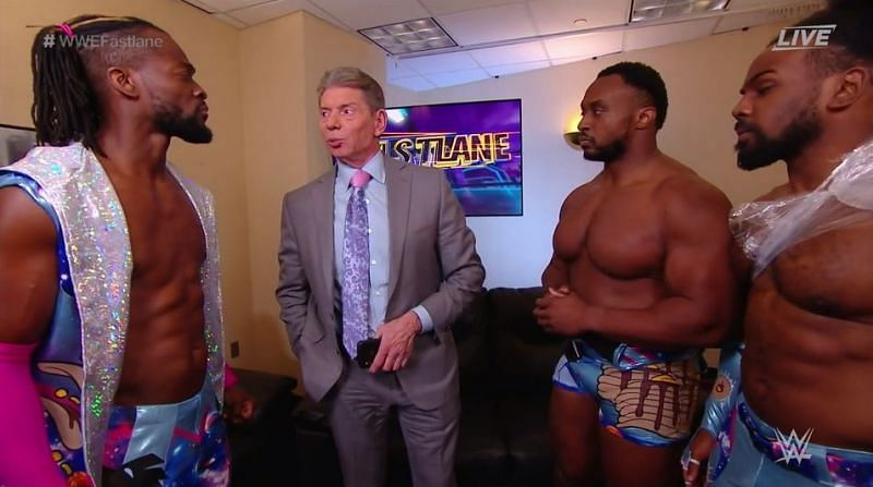 Vince McMahon and The New Day