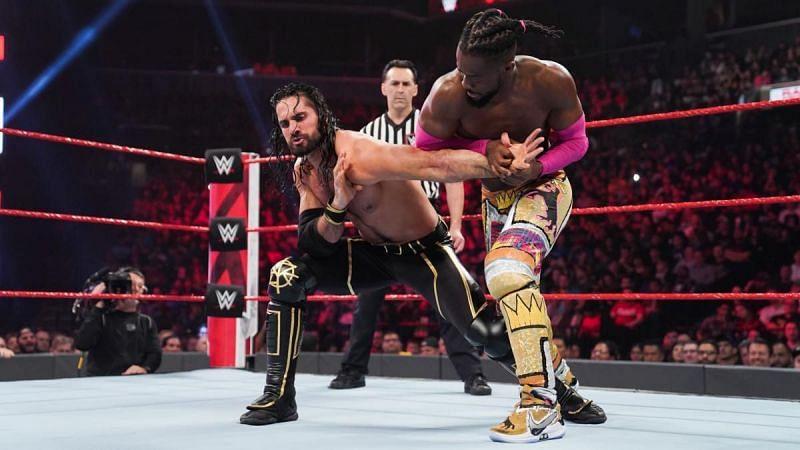 Rollins vs Kingston