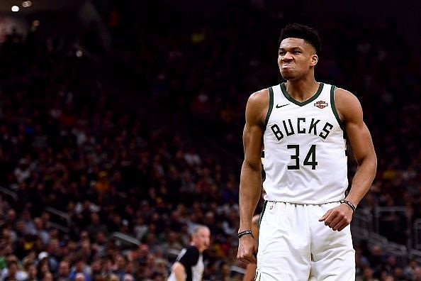 Giannis will be expected to lead his team to victory against a streaky Pistons side