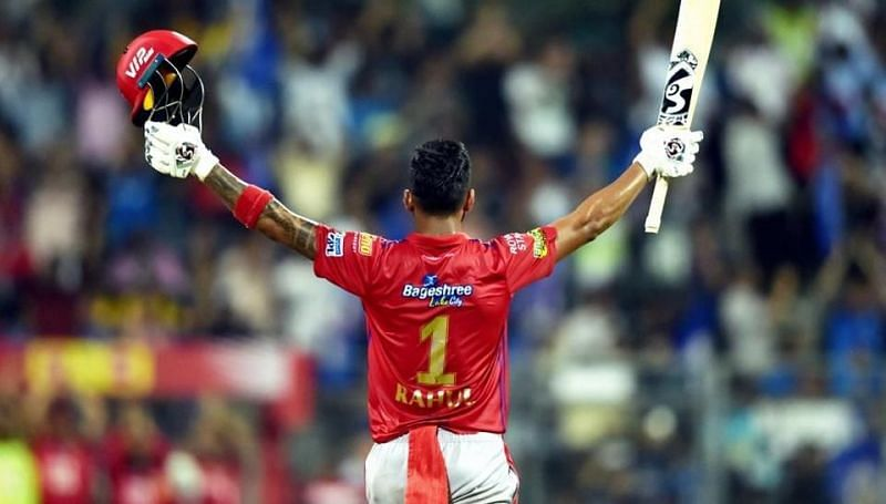 KL Rahul hits his first century in the IPL
