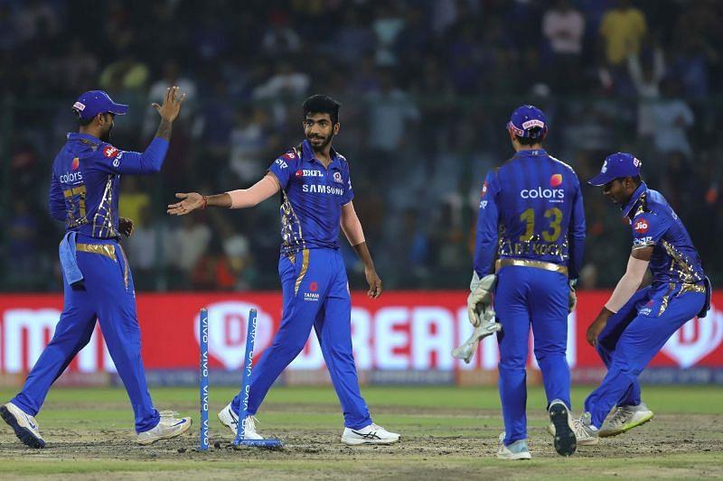 Mumbai Indians defeated the Delhi capitals y by 40 runs(Image courtesy:iplt20.com)