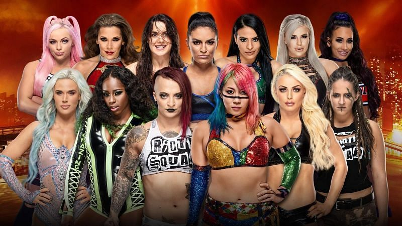 WrestleMania 35: WWE Women