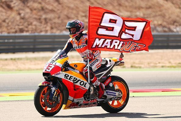 Marc Marquez - Still only 26 and could well be the greatest by the time he calls it quits