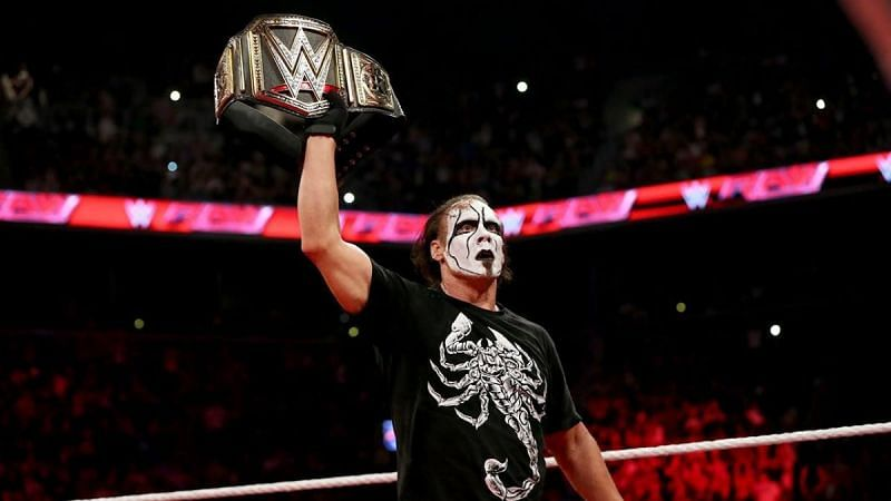 Sting joined WWE in November 2014 but had just a handful of matches before retiring.