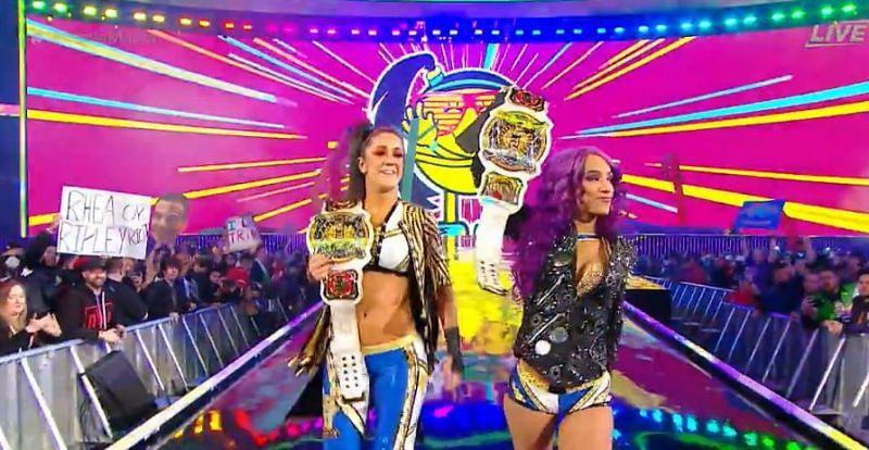 Sasha Banks and Bayley lost their Women