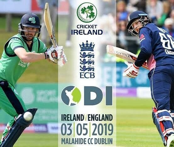 Ireland will host England for the one-off ODI in Dublin on May 03, 2019.