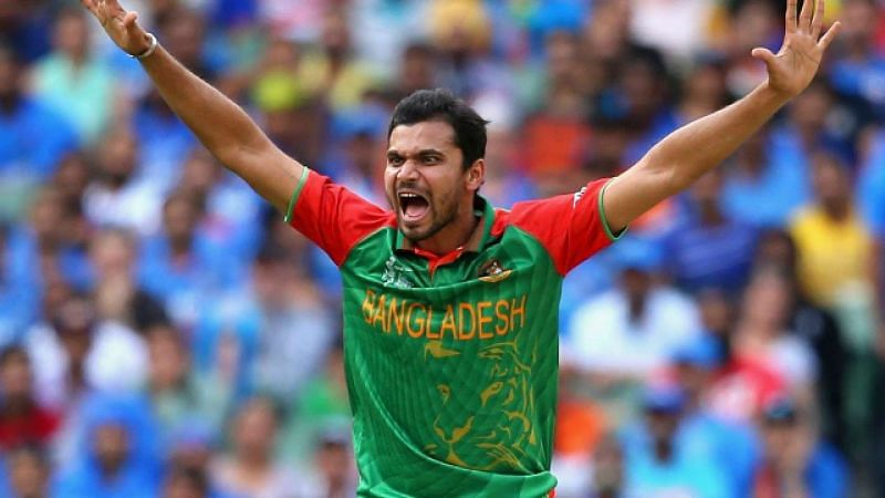 Bangladesh Captain Mortaza