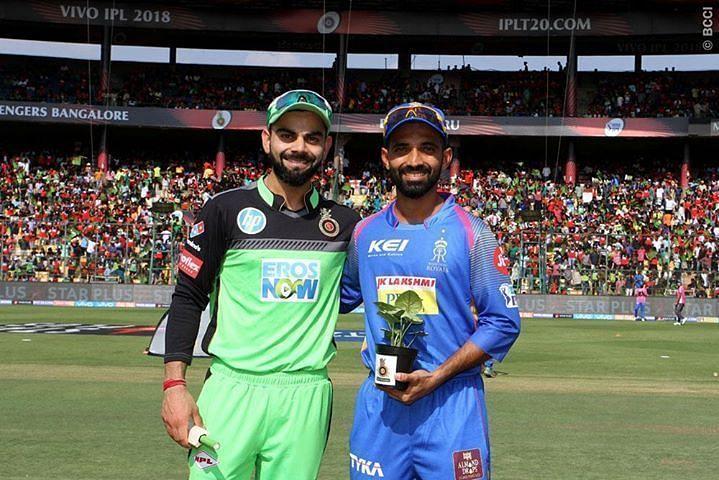 Virat Kohli and Ajinkya Rahane.