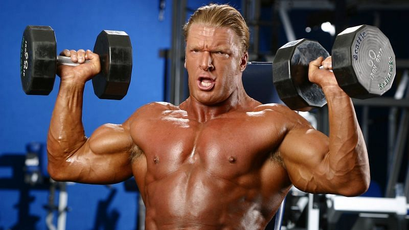 The Game Triple H has a truly incredible physique, but his facial expression from this photo has become one of wrestling
