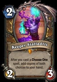 Image result for Keeper Stalladris hearthstone