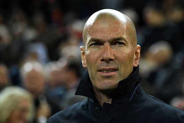 Zidane on round two of managing Real Madrid