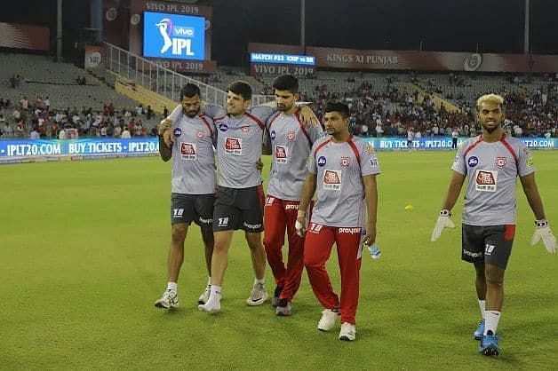 Henriques got injured just moments before the toss (Picture courtesy: iplt20.com)