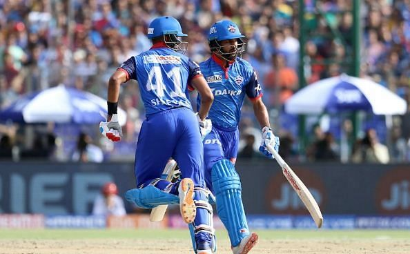 Shreyas Iyer and Shikhar Dhawan (Picture courtesy: iplt20.com)