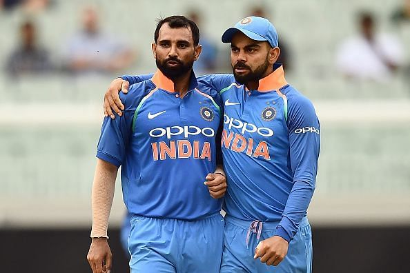 Mohammed Shami Hopeful to Keep their Intact Record Against Pakistan Intact. Courtesy: BCCI / Twitter