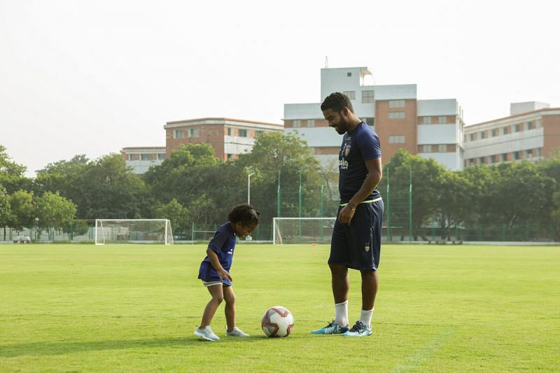 Gregory Nelson of Chennaiyin FC