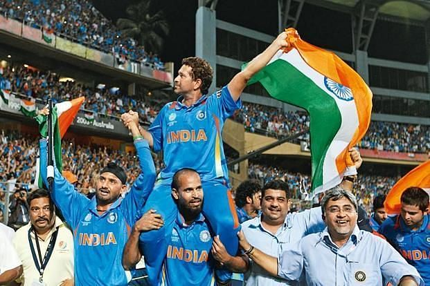 India won the 2011 World cup