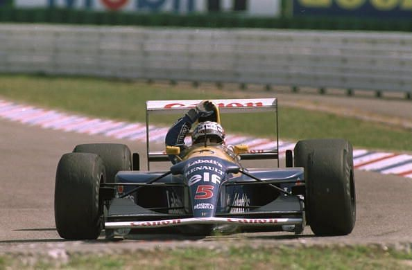 The FW14B Powered Nigel Mansell to his only driver