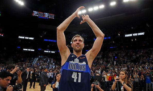 21-year veteran and career long Dallas Maverick Dirk Nowitzki announced that he will retire from the NBA following the team's 120-109 win over the Phoenix Suns.