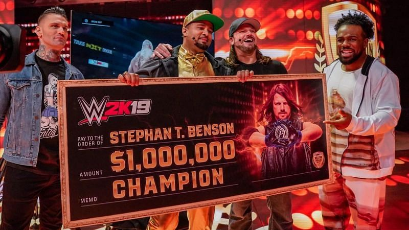 WWE 2K19 Million Dollar Challenge Winner claims he has done work for WWE Enter caption