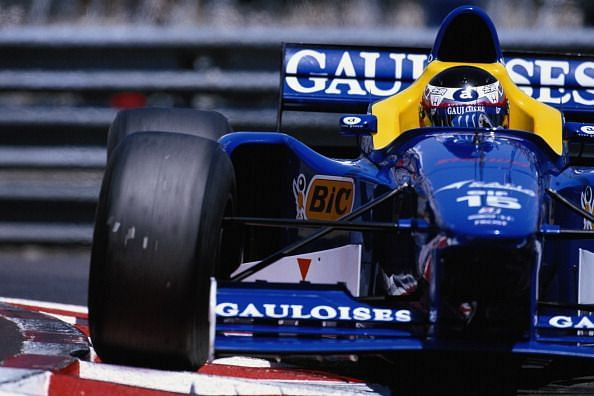 Nakano scored his only F1 points for the Prost team in 1997.
