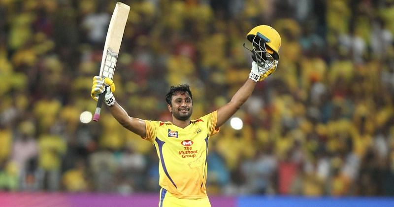Rayudu was the leading run-scorer for CSK in 2018