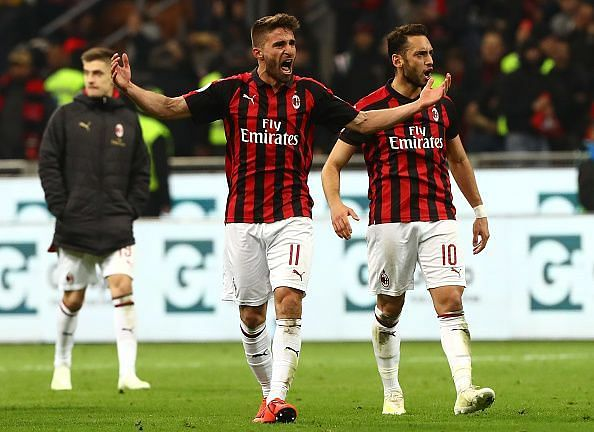AC Milan had a morale boosting victory over Lazio in their last match