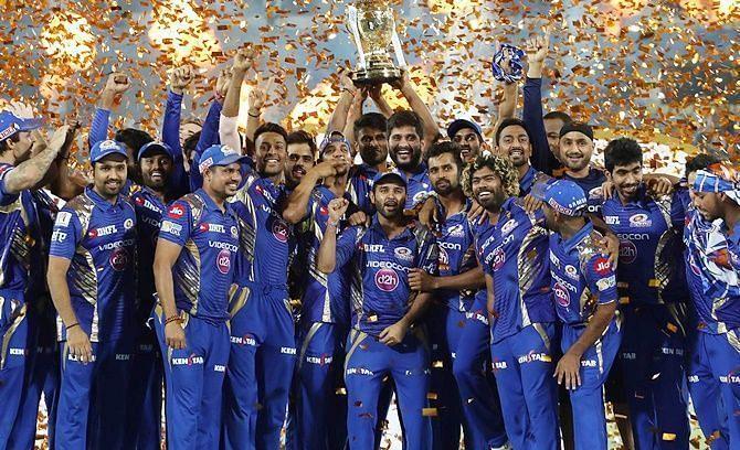 Mumbai Indians won three titles between 2013 - 2017