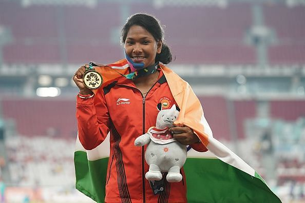 Swapna Barman did her country proud yet again with a silver medal finish in the heptathlon