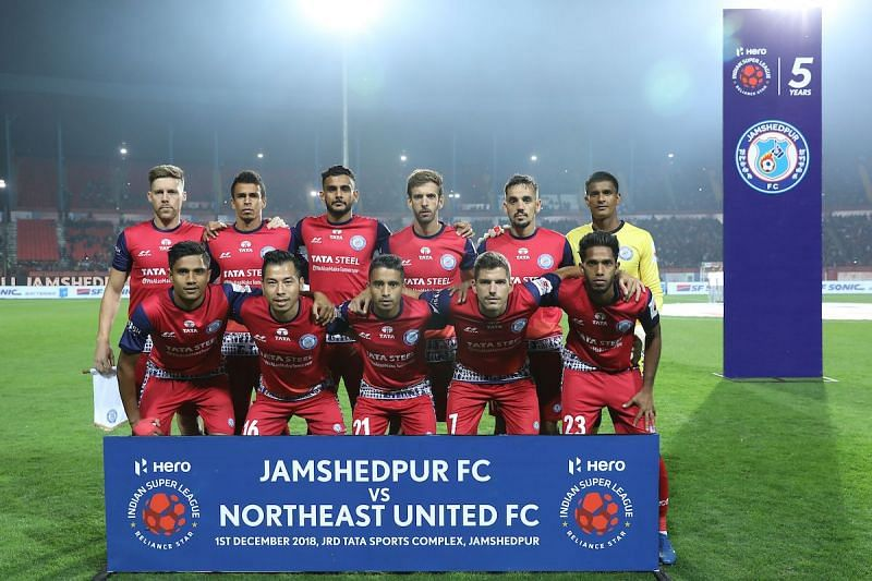 Jamshedpur FC had to contend with fifth position