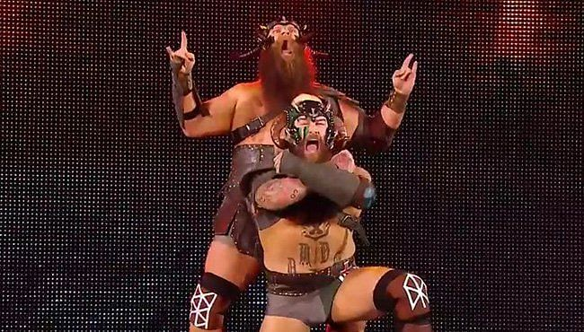 The Viking Experience moniker has puzzled the WWE Universe