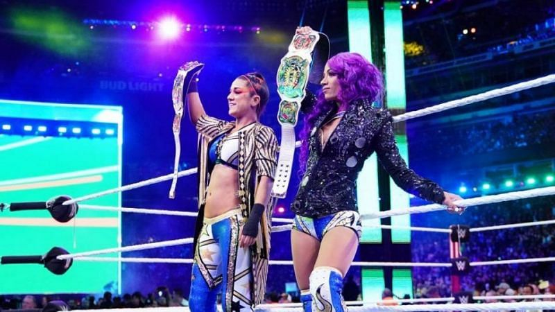 Banks and Bayley were reportedly unhappy