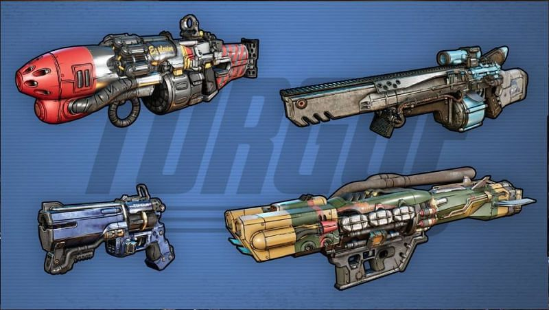 Borderlands 3 Gun Manufacturer: Torgue