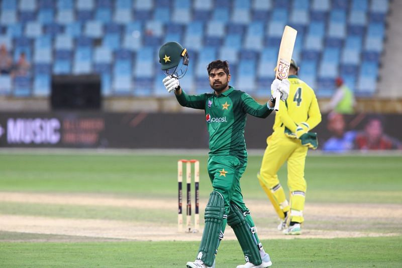 Haris Sohail scored brilliant century under pressure