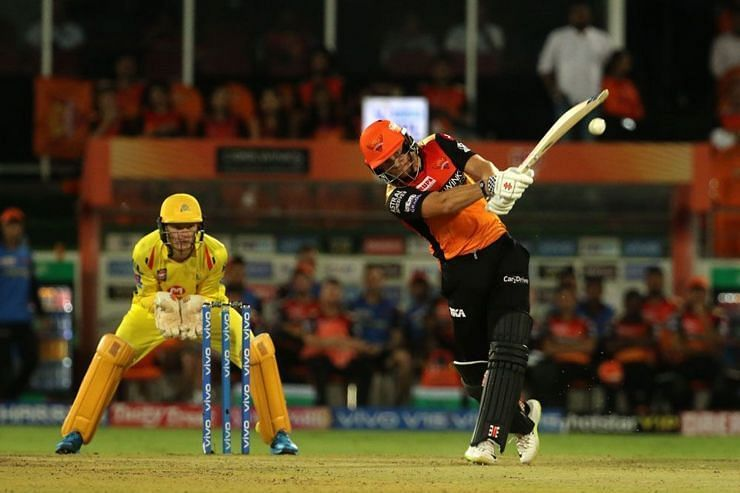 Bairstow hit the winning shot as SRH defeated CSK by 6 wickets (Picture courtesy: iplt20.com)