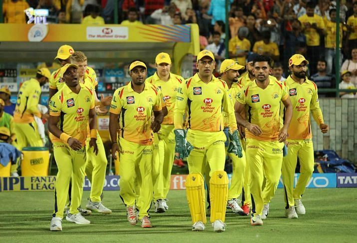 Defending Champions - Chennai Super Kings.