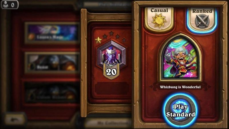 Image result for whizbang hearthstone f2p