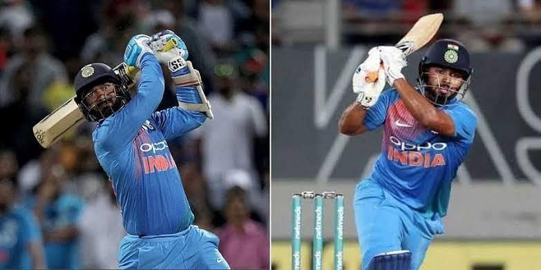 Dinesh Karthik & Rishabh Pant.