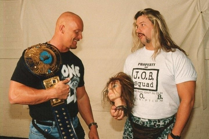 Al Snow was one of the boys in a locker room with stars like Stone Cold