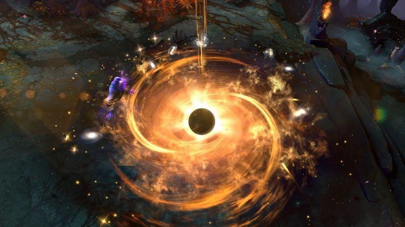 Enigma and his Blackhole