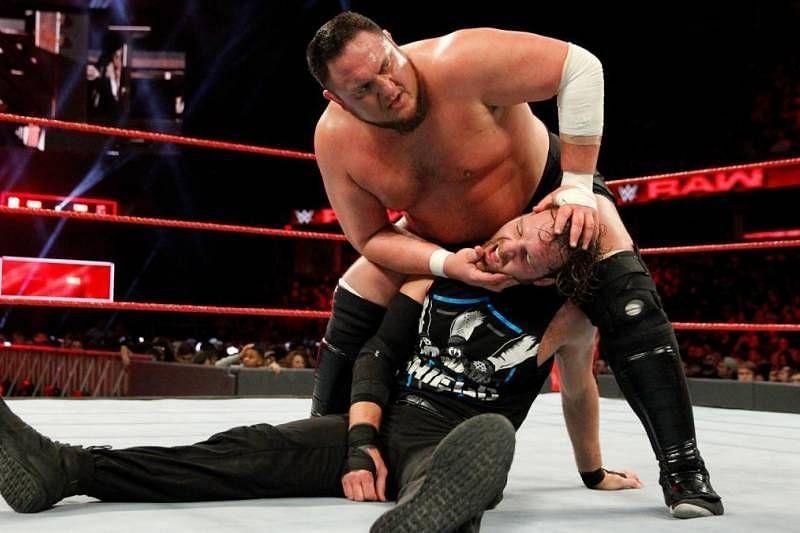 Samoa Joe and Dean Ambrose