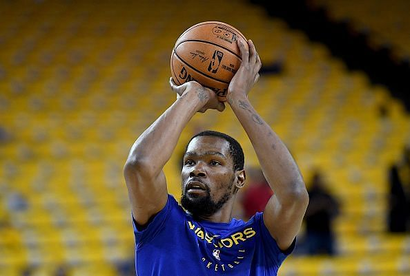 Kevin Durant is looking to lead the Golden State Warriors past the Houston Rockets