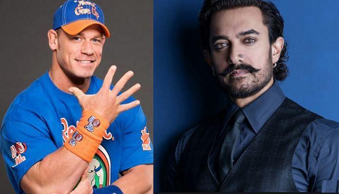 जॉन सीना और आमिर खान