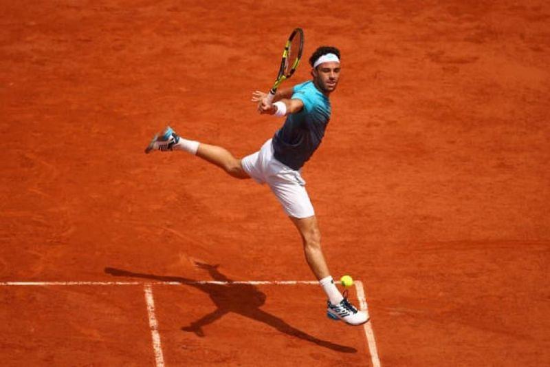 Cecchinato will now face Guido Pella for a place in the quarter-finals of Monte Carlo Masters