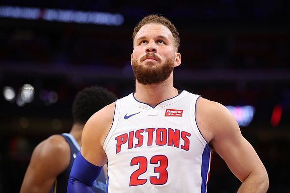 Blake Griffin will be tasked with leading the Pistons against the East